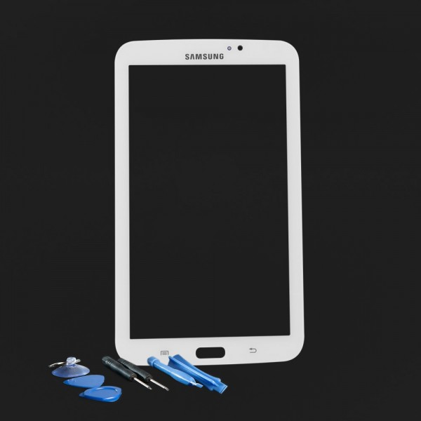 Samsung Galaxy Tab 3 7.0 SM-T210 Digitizer Glas Touchscreen Display weiß