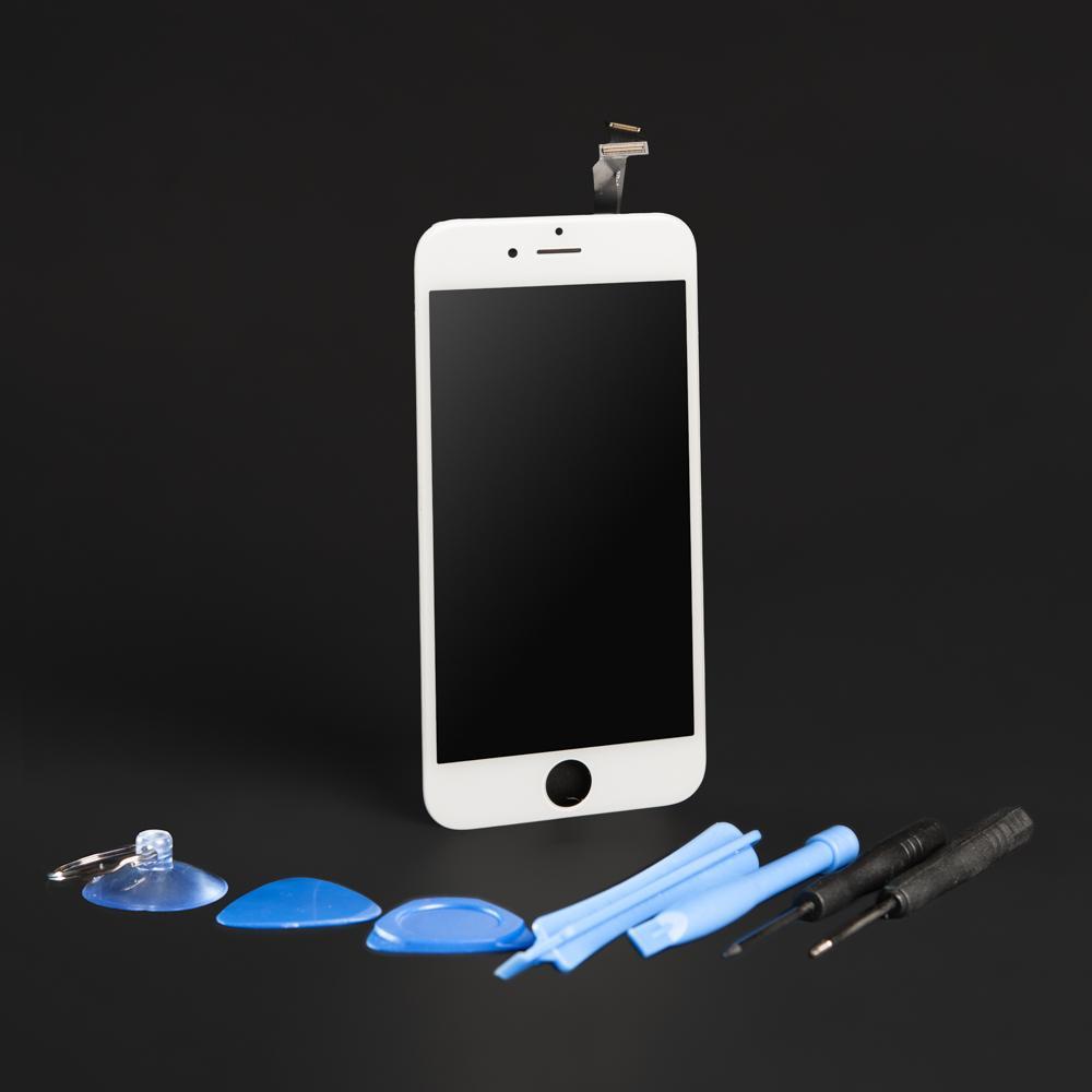 apple iphone 6 smartphone displayeinheit reparaturset wei. Black Bedroom Furniture Sets. Home Design Ideas