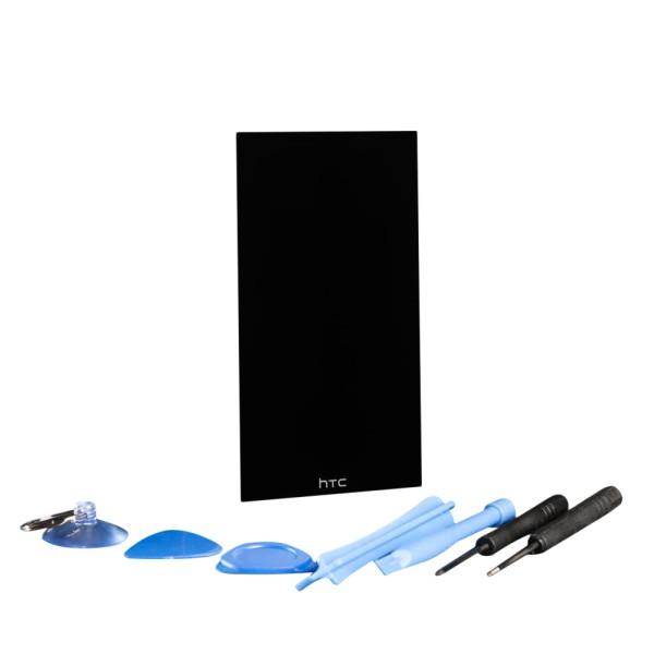 HTC ONE M9 Display schwarz mit Werkzeugset