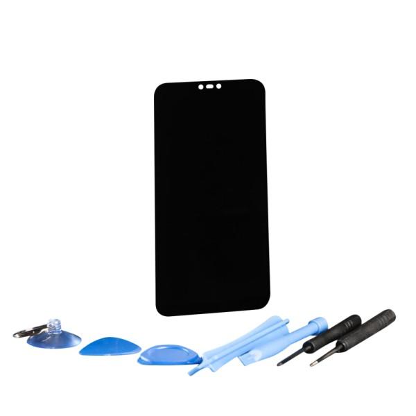 Huawei P20 lite Display Touchscreen Bildschirm mit Rahmen schwarz mit Werkzeugset