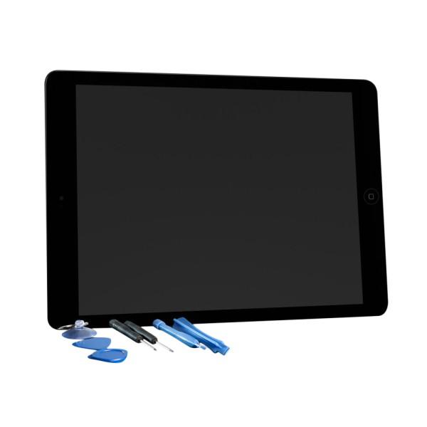 Apple iPad Air 2 Digitizer Glas Touchscreen Display mit Homebutton schwarz