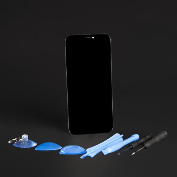 Apple iPhone X Retina Display Touchscreen Bildschirm schwarz mit Werkzeugset