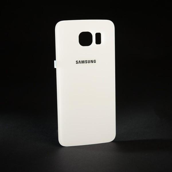 Samsung Galaxy S6 SM-G920F Backcover / Akkudeckel weiß vorverklebt