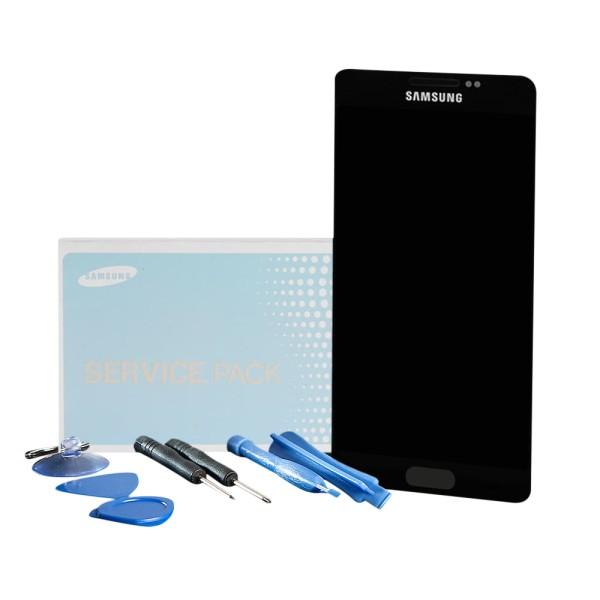 Original Samsung Galaxy A5 2015 SM-A500F Display Kompletteinheit schwarz