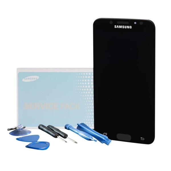 Original Samsung Galaxy J7 Pro 2017 SM-J730F Display Kompletteinheit schwarz